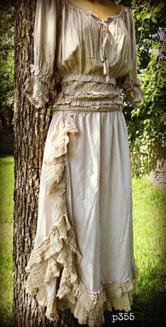 """Our NEW """" Gypsy Annie""""Ruffle skirt by Paris Rags"""