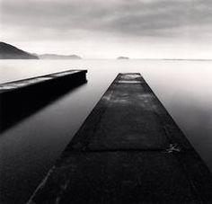 Two Piers, Imazu, Honshu, Japan   Michael Kenna