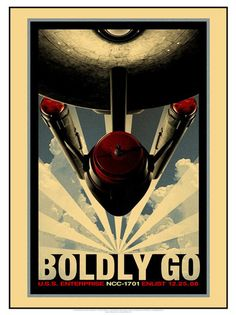 To boldly go where no man has gone before :)