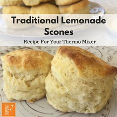 Recipe Traditional Lemonade Scones by Chrystalla, learn to make this recipe easily in your kitchen machine and discover other Thermomix recipes in Baking - sweet. Thermomix Scones, Thermomix Bread, Recipe Using, Lemonade Scone Recipe, Baking Recipes, Cake Recipes, Bread Recipes, Keto Recipes, Breads