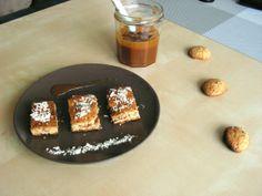 Cookies et caramel beurre salé {Battle Food #18} | Cook'n blog Caramel, Cookies Et Biscuits, French Toast, Breakfast, Desserts, Blog, Cookie Dough, Butter, Food