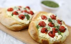 You'll find the ultimate Jenny Morris Italian Bread Tarts recipe and even more incredible feasts waiting to be devoured right here on Food Network UK. Food Network Uk, Food Network Recipes, Tart Recipes, Cooking Recipes, Basil Recipes, Yummy Recipes, Italian Starters, Jenny Morris, Open Faced Sandwich