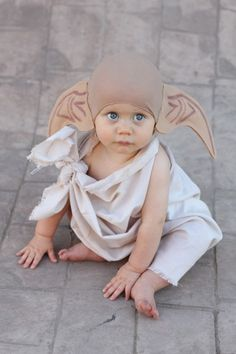 I want a house elf like this one!! Too cute.