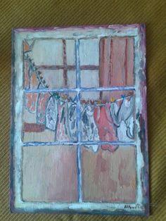 Ventana de un pintor en Portugal