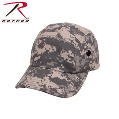 Rothco 5 Panel Military Street Cap ACU Camo