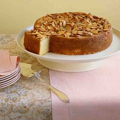 This beautifully textured cake is soft, crumbly, and crunchy all at once. Semolina flour gives the light and tender interior a bit of heartiness, and almond paste in the batter keeps the cake moist.