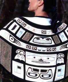 Chilkat cape, Pam Baker (Kwakiutl, Squamish)