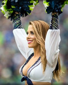 fba02ece426 69 Best SEATTLE SEA HAWKS CHEERLEADERS images