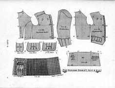 kilt, vest pattern