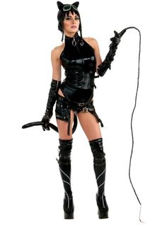 Adult Anime Catwoman Costume - Party City