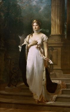 Queen Louise of Prussia by Gustav Richter.