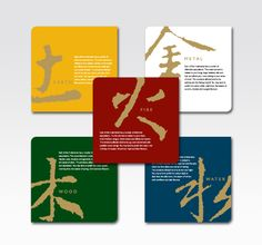 Treatments are based on the five elements (五行): Wood, Earth, Water, Fire, and Metal.