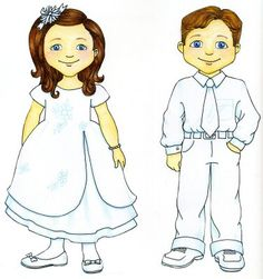 """Baptism object lesson - These paper dolls were cut out, laminated, and used in an object lesson by wiping chocolate pudding on them to show our 'spirits' getting dirty with bad choices. Then wet wipes labeled as """"baptism"""" and """"sacrament"""" were used to clean the 'spirits' off again, making them as pure as they were when they came to earth."""