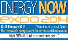 Energy Now 2014 the renewable event for farmers and landowners visit www.rehau.co.uk/districtheating