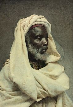 Portraits of Moroccans by Spanish artist José Tapiró 1836-1913