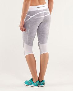 0e64a538f Lululemon Run  Pace Crop - Wee Are From Space White Combo   White - lulu  fanatics