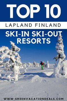 Lapland Finland Travel Tips – Looking for the best ski resorts in Finland? Check out these Top 10 Lapland Finland Ski-In Ski-Out Resorts! Perfect for planning a Lapland Finland skiing holiday! Finland Travel Destinations | Skiing Holidays Lapland Finland #Lapland #Finland #SkiInSkiOut #Resorts #HotelDeals #Hotel #SkiResort #SkiHoliday #SkiVacation #Skiing #Snowboarding #Snowboard #TeamFinland #Olos #Ounasvaara #Pyhatunturi #Levi #Saaga #Ski #Finnish