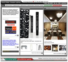 Online shop for Sheffield Artemide, Flos, Fabbian, Foscarini, Kartell lighting retailer