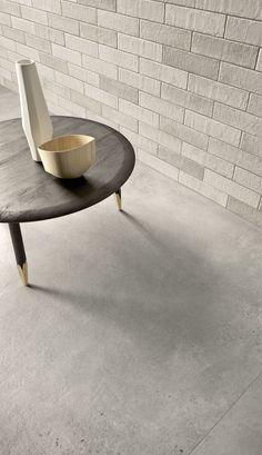 Gres porcelánico de efecto cotto y cemento  - Marazzi 7190