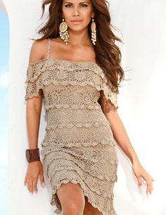 crochet dress - WOW