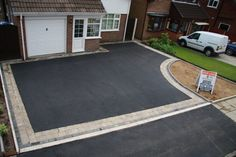 Tarmac, tarmac driveways, Constructive Driveways Bury, Bolton, Manchester areas and throughout lancashire Resin Driveway, Asphalt Driveway, Driveway Paving, Stone Driveway, Driveway Design, Driveway Landscaping, Modern Landscaping, Front Driveway Ideas, Modern Driveway