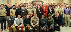Scoutmaster celebrates milestone - The Arlington Catholic Herald