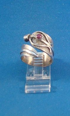 Native American Navajo Indian Jewelry Silver Feather Ring Size 9 1/2 | eBay. $43.99 with Free Shipping.