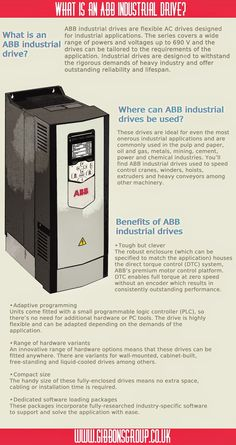 What is an #ABB industrial drive? Read on as we reveal all about these invaluable devices... http://ow.ly/zKqX9 @ABB_drives_UK