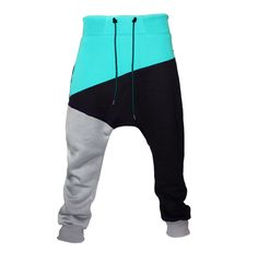 Dancewear – unisex trousers mint – a unique product by ploonk on DaWanda