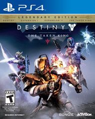 Boxshot: Destiny: The Taken King Legendary Edition by Activision