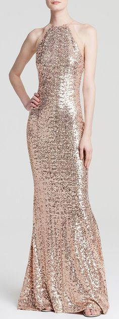 Sequin Maxi Gown