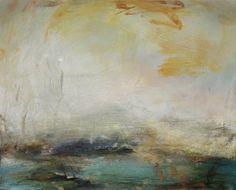 Mark Johnston Harbour III.  Oil on Panel