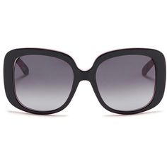 Dior 'Dior Lady Lady 1' cannage temple sunglasses ($305) ❤ liked on Polyvore featuring accessories, eyewear, sunglasses, lasit, glasses, occhiali, black, oversized sunglasses, matte sunglasses and checkered sunglasses