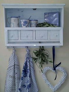 blue & white cottage .. X ღɱɧღ ||