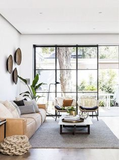 One of the comfy and also stunning living room designs is a Scandinavian living room. Scandinavian living room layouts have numerous designs. One of them is the Scandinavian living room minimalist. Living Room Seating, My Living Room, Living Room Interior, Home And Living, Living Room Furniture, Apartment Interior, Interior Livingroom, Apartment Design, Apartment Furniture