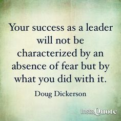 Doug Dickerson: Success and Fear