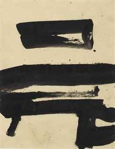 Franz Kline - Untitled - possible dining room (with white/gray background) Franz Kline, Willem De Kooning, Abstract Expressionism, Abstract Art, Abstract Paintings, Foto Online, Art Through The Ages, Black And White Abstract, Art Auction