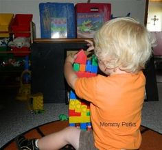 Fun with your two year old...ideas from Dr. Sally.