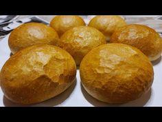 Vizes Zsemle recept házilag (TangZhong eljárással) - Gábor a Házi Pék - YouTube Hamburger, Bread, Youtube, Food, Brot, Essen, Baking, Burgers, Meals