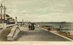 Vintage Esplanade. Bognor Regis, Past, Dolores Park, Paradise, Child, Places, Travel, Vintage, Past Tense
