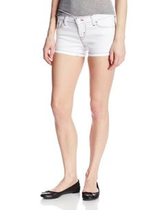 Levi's Juniors Shortie Short, Winter White, 29/9- #fashion #Apparel find more at lowpricebooks.co - #fashion