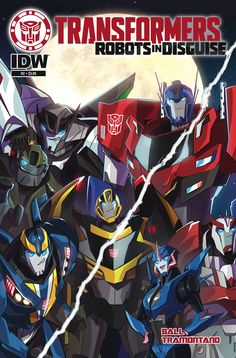 Transformers: Robots In Disguise Animated (2015) Issue #2
