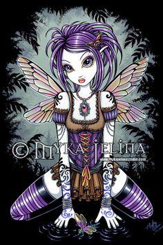 Fantasy Art: Fairies, Artist: Myka Jelina, Title: Addison