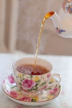 Time for a cup of tea...