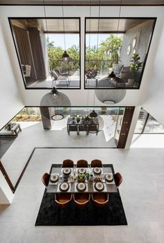 Void // The Signature by Metricon Riviera, on display in Sorrento, QLD. Void // The Signature by Metricon Riviera, on display in Sorrento, QLD. Modern House Design, Modern Interior Design, Interior Design Living Room, Interior Architecture, Interior Decorating, Interior Design Guide, Architecture Panel, Display Homes, Dining Room Design