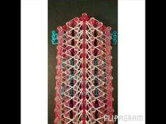Rainbow Loom Bands Walk The Line Bracelet - YouTube