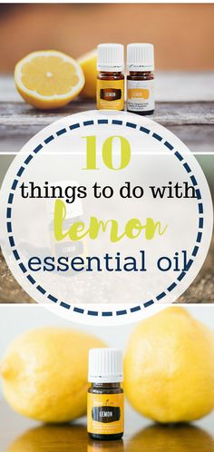 10 Things To Do With Lemon Essential Oil - (moodymooch)