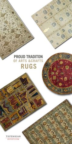 The timeless designs of the #TufenkianOutlet Arts and Crafts collection are characterized by an understated elegance. Each handmade arts and crafts area rug is a unique fashion statement, reflecting an aesthetic that simultaneously draws from and builds upon the traditions of the past.