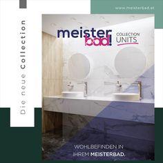 Wohlbefinden für Ihr Meisterbad. Jetzt anfordern und durchblättern ! Bad, Bathroom Lighting, Bathtub, The Unit, Mirror, Furniture, Home Decor, Feel Better, Bathroom Light Fittings