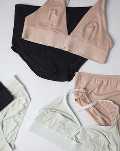 b9a5df476f04 Base Range Triangle Bra in Nude Garde Robe, Sous Vetement Femme, Mode  Vetement,